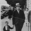 Charles Harper with nephew Stanley in Ballarat