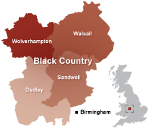 map black country