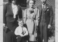 Rachael May Harper, Kathleen & Bill Marshall with nephew Leslie Harper